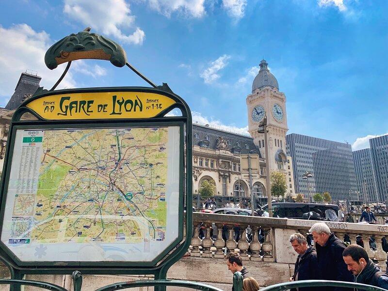 Gare de Lyon to Charles de Gaulle